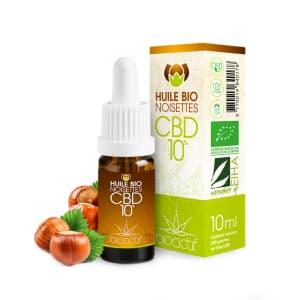 huile bio noisette au CBD bio certifié