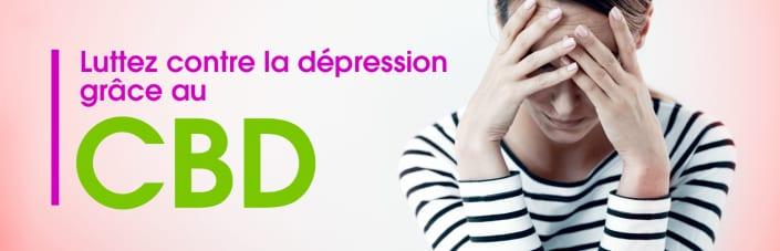 lutter contre la dépression grâce au cbd