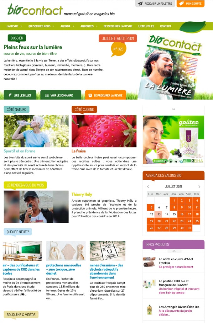 Biocontact parle des pastilles CBD BioActif…