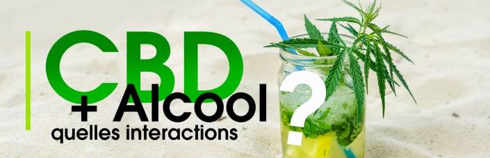 cbd et alcool : quelles interactions ?