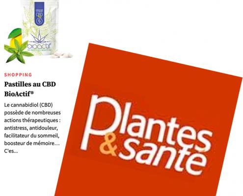 pastilles cbd bioactif plantes et santé septembre 2021